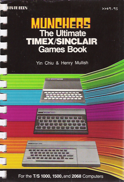Munchers: The Ultimate Timex/Sinclair Games Book screen