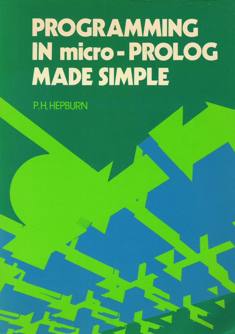 Programming in Micro-PROLOG Made Simple screen