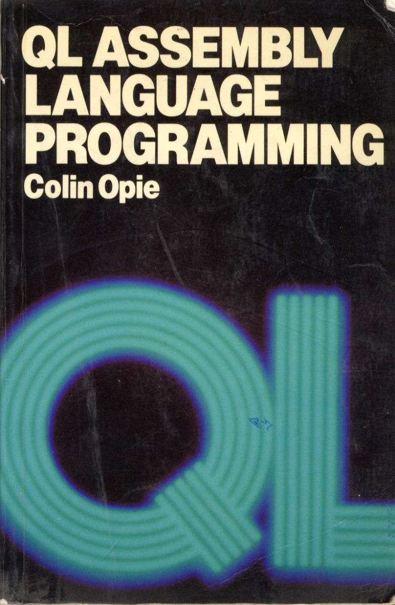 QL Assembly Language Programming screen