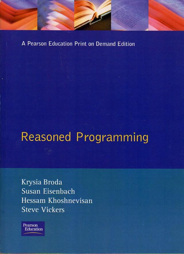 Reasoned Programming screen