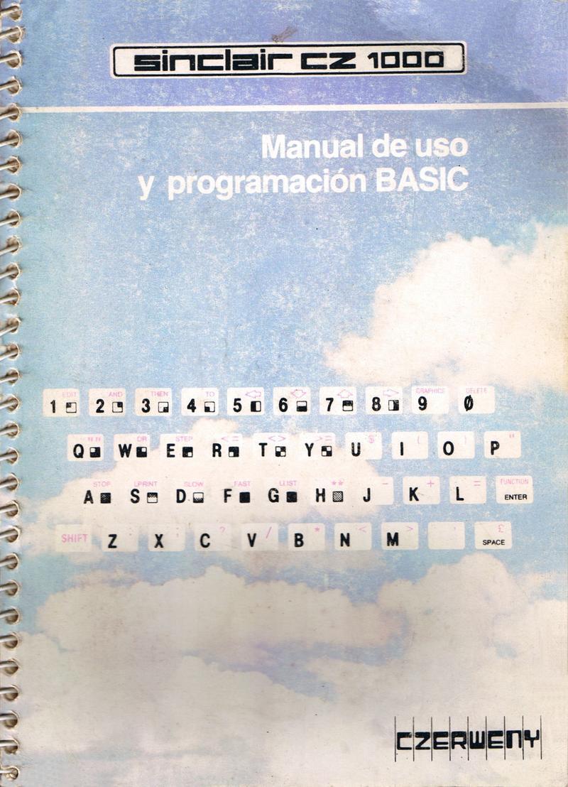 Sinclair CZ 1000 Manual de Uso y Programacion BASIC screen