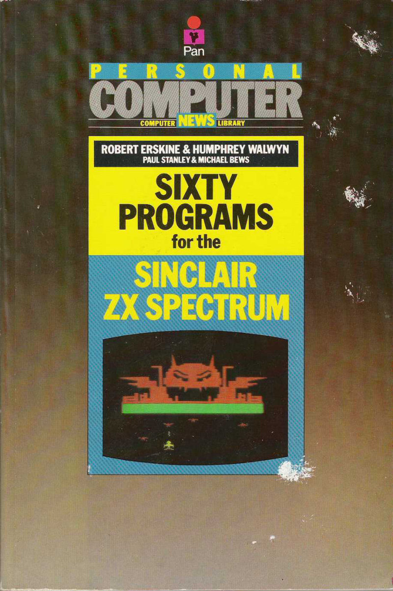 Sixty Programs for the Sinclair ZX Spectrum screen