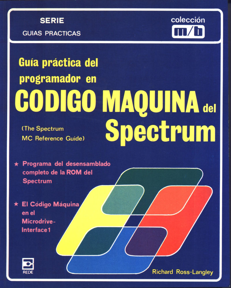 The Spectrum Machine Code Reference Guide screen