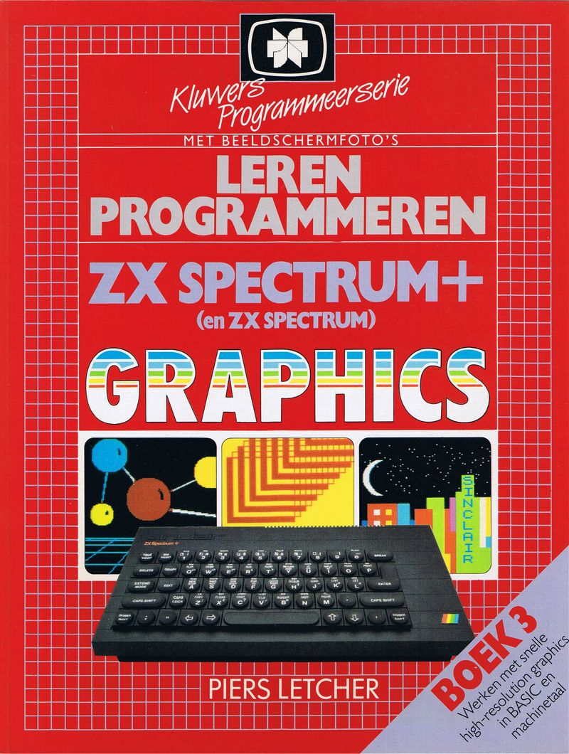 Step-by-Step Programming ZX Spectrum and ZX Spectrum+ Graphics - Book Three screen