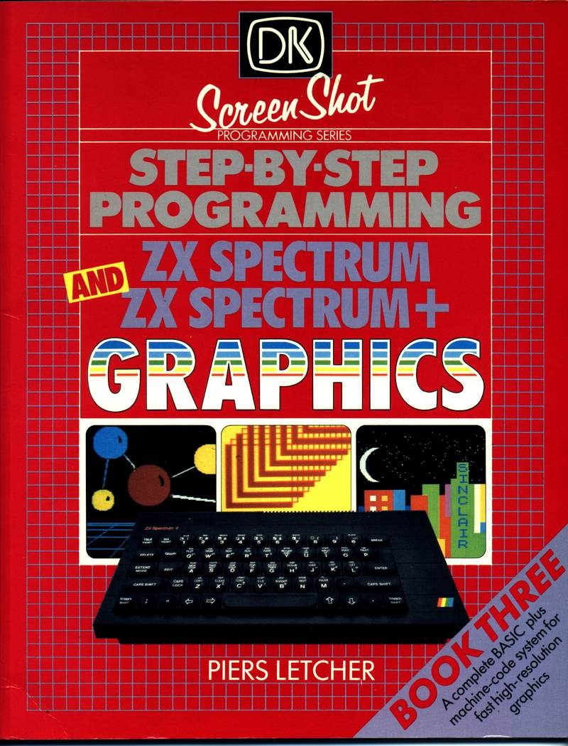 Step-by-Step Programming ZX Spectrum and ZX Spectrum+ Graphics - Book Three image, screenshot or loading screen