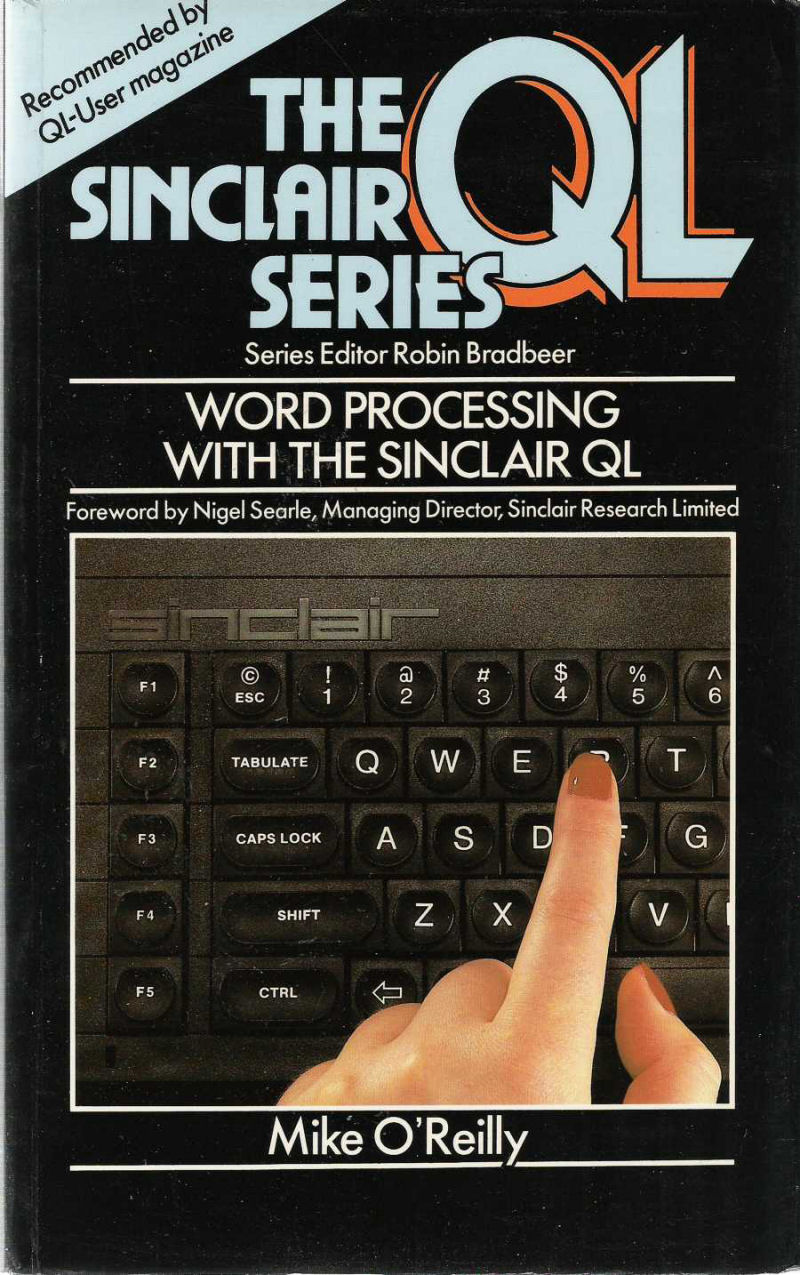 Word Processing with the Sinclair QL screen