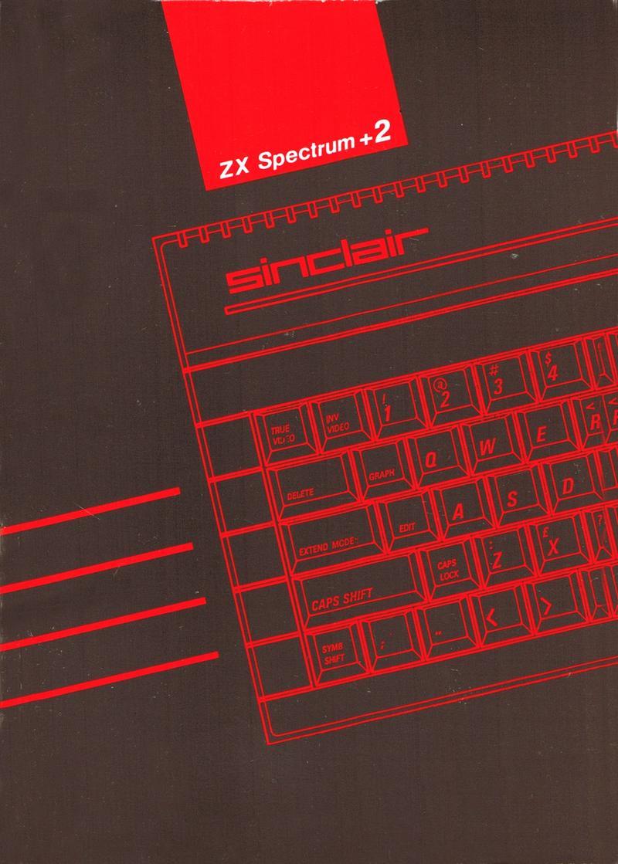 ZX Spectrum +2a Manual screen
