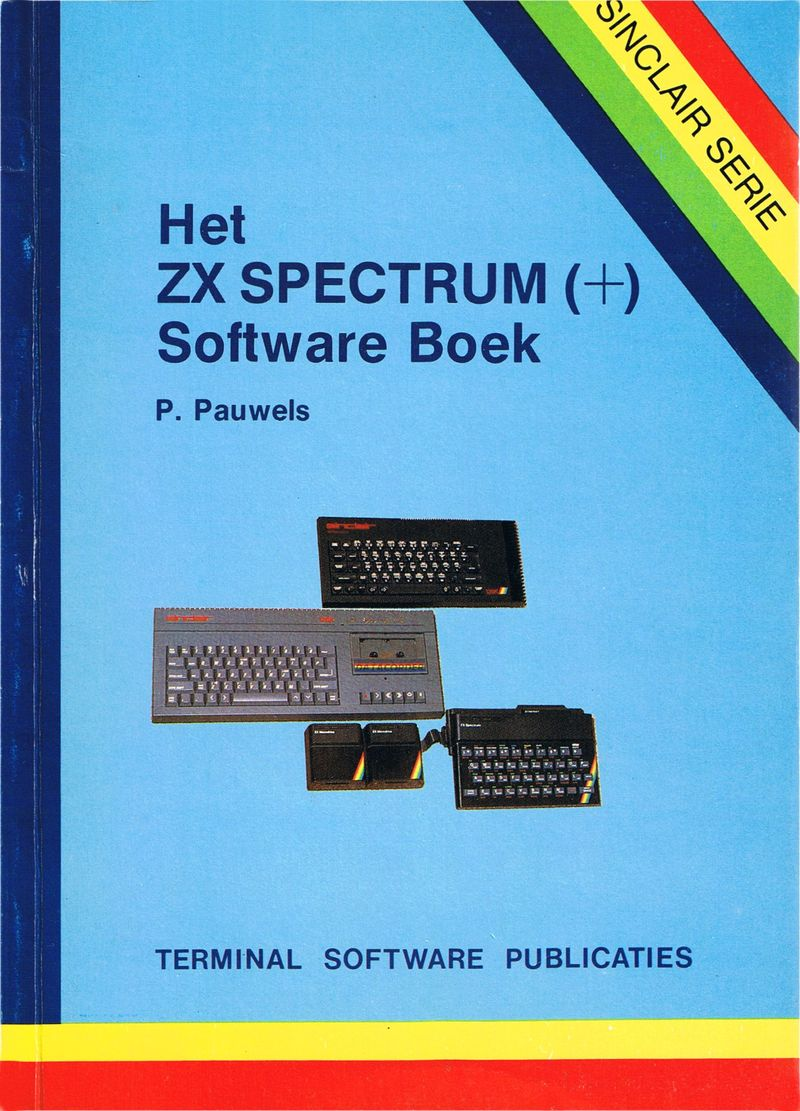 Het ZX Spectrum (+) Software Boek screen