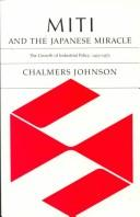 Miti and the Japanese Miracle