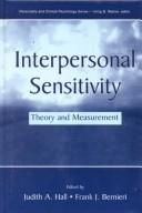 Interpersonal sensitivity by