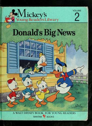 Donald's big news/ story by Mary Packard by Mary Packard