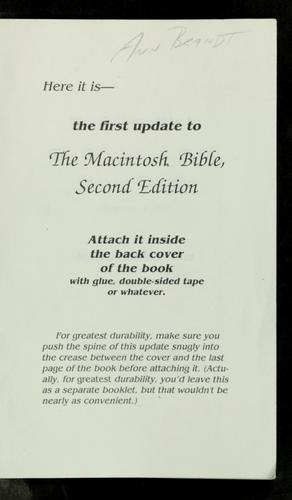 The first update to the Macintosh bible by Sharon Zardetto Aker