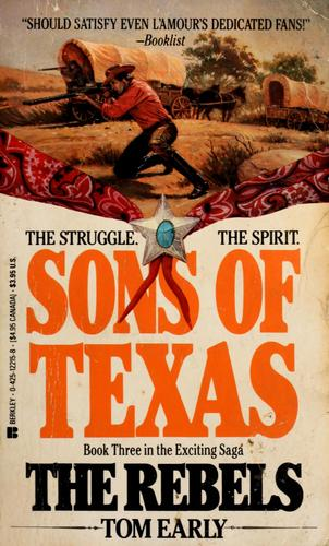 Sons of Texas by Tom Early