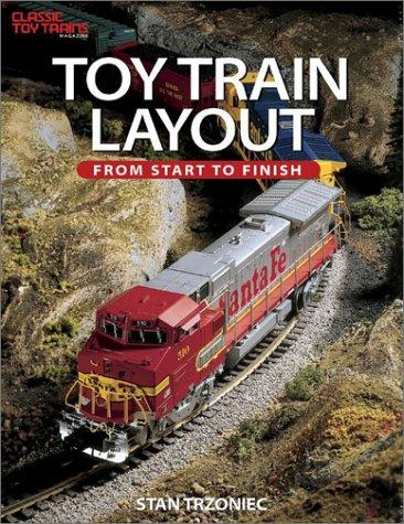 Toy train layout by Stanley W. Trzoniec