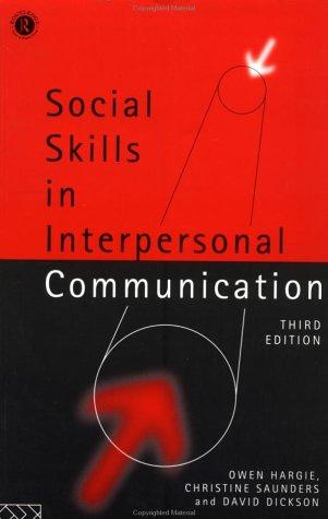 Social skills in interpersonal communication