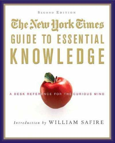 The New York Times Guide to Essential Knowledge, Second Edition by New York Times