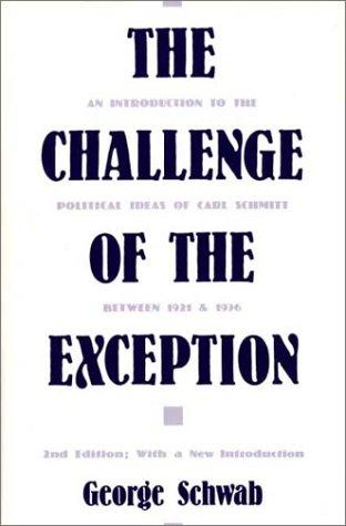 The challenge of the exception