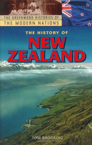 The history of New Zealand by Tom Brooking