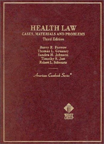 Health Law by Barry R. Furrow