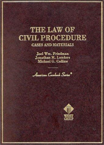 The Law of Civil Procedure