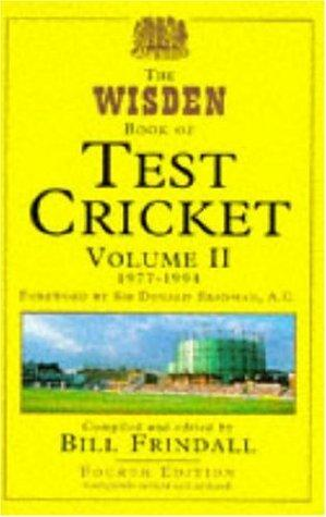 The Wisden Book of Test Cricket by