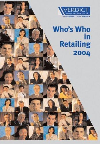 Who's Who in Retailing by Verdict Research Limited