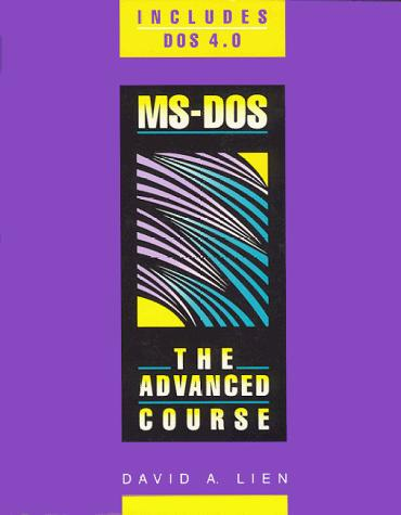 MS-DOS by David A. Lien
