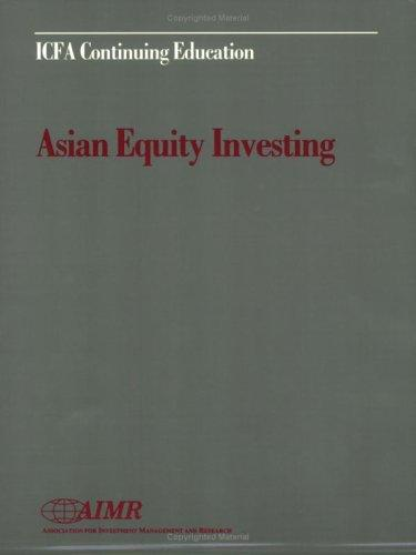 Asian equity investing by