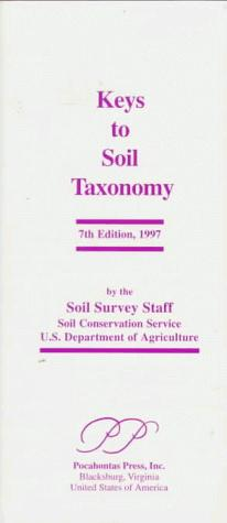 Keys to Soil Taxonomy by Soil Conservati U. S. Dept Agriculture