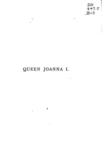 Queen Joanna I. of Naples, Sicily, and Jerusalem, countess of Provence, Forcalquier and Piedmont by Baddeley, Welbore St. Clair