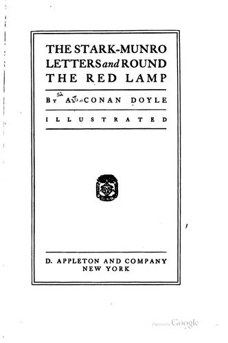 The Stark-Munro letters and Round the red lamp by Sir Arthur Conan Doyle