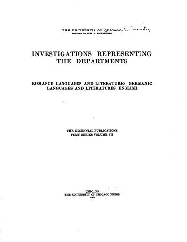Investigations representing the departments.