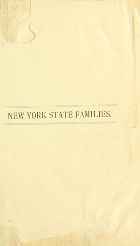 Genealogical notes of New York and New England families by S. V. Talcott