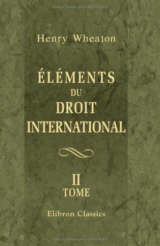 Éléments du droit international