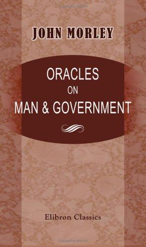 Oracles on Man & Government