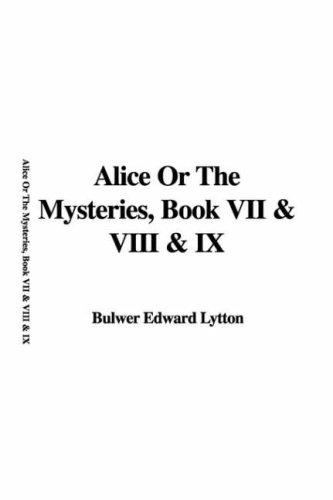 Alice or the Mysteries