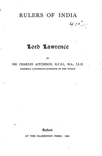 Lord Lawrence