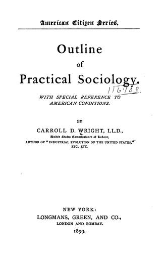 Outline of practical sociology.