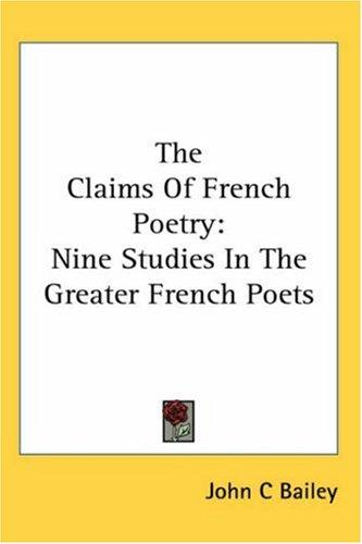 The Claims of French Poetry