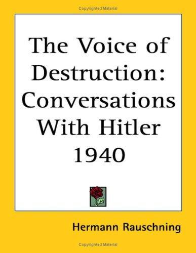 The Voice of Destruction