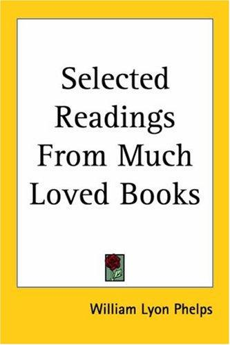Selected Readings from Much Loved Books