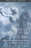 Origins of Nationality in South Asia