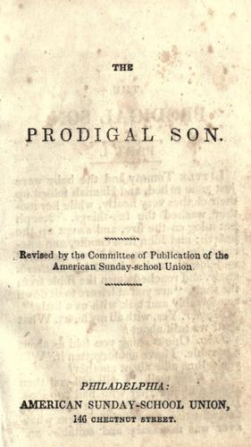 The prodigal son by