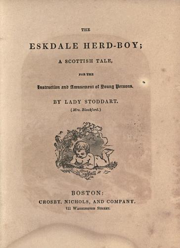 The Eskdale herd-boy