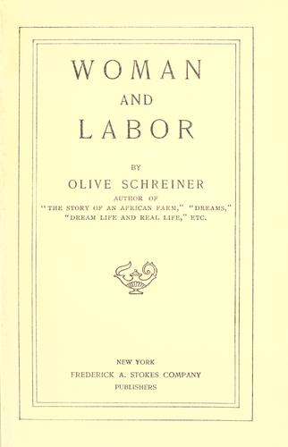 Woman and labor.