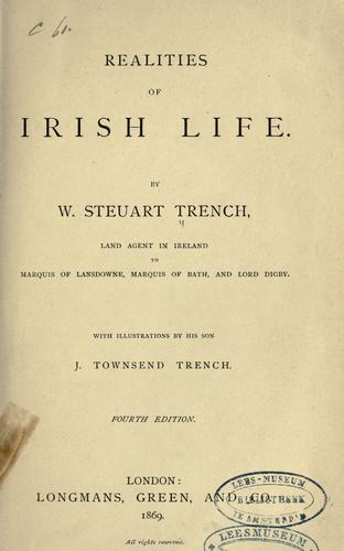 Realities of Irish life by William Steuart Trench