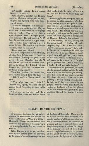 Health in the hospital by Martineau, Harriet
