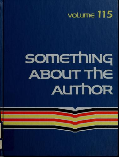 Something About the Author v. 115 by Alan Hedblad