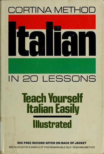 Conversational Italian in 20 lessons by Michael Cagno