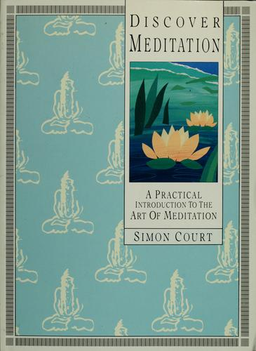 Discover meditation by Simon Court